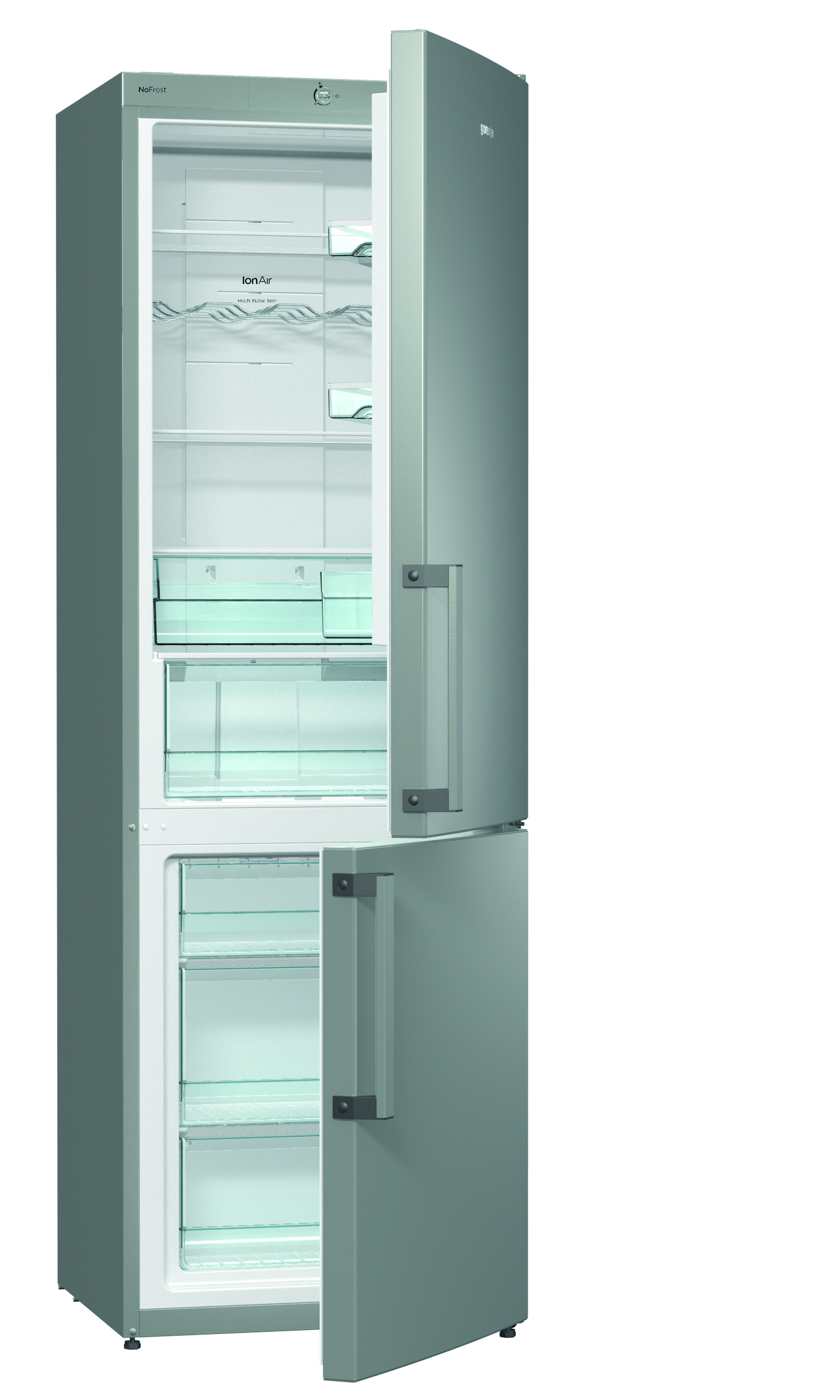 Tall fridge and freezer set